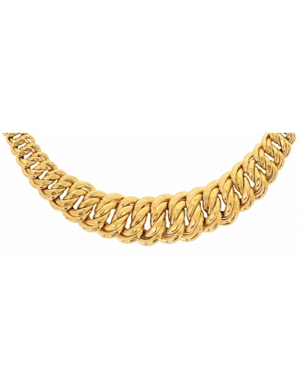 collier maille américaine femme