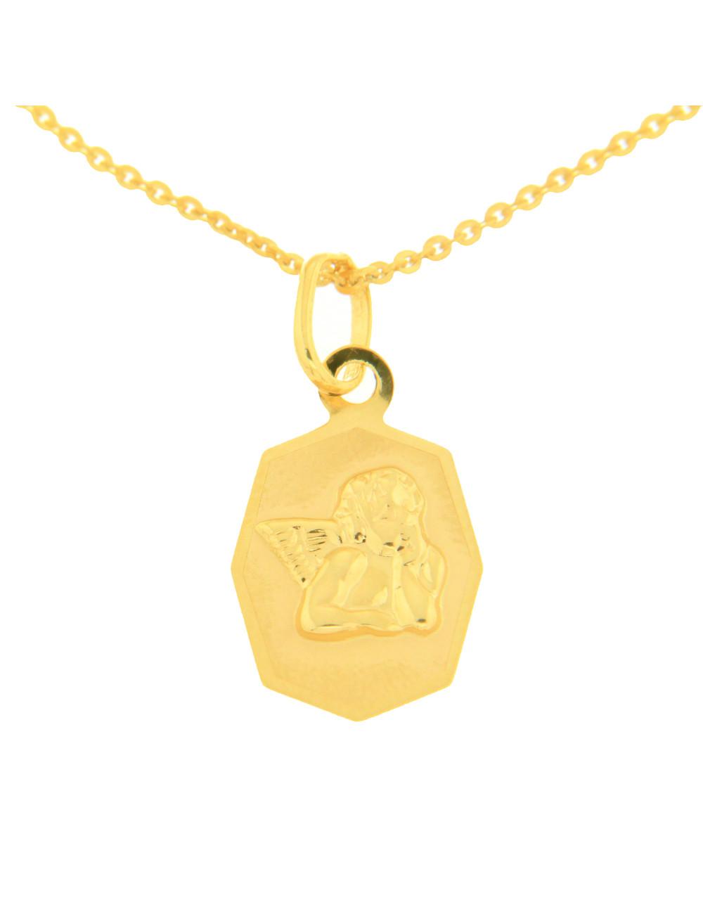 pendentif baptême enfant or