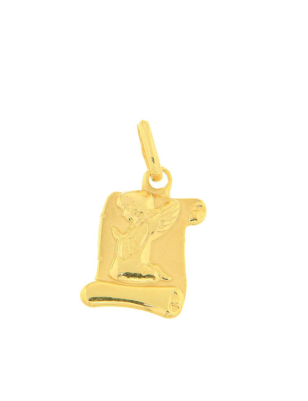 pendentif religieux or jaune