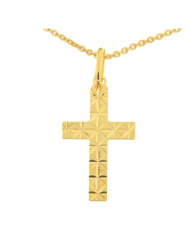 croix pendentif mixte