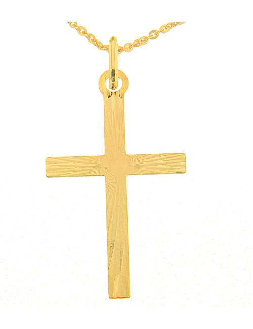 mixte pendentif religieux croix