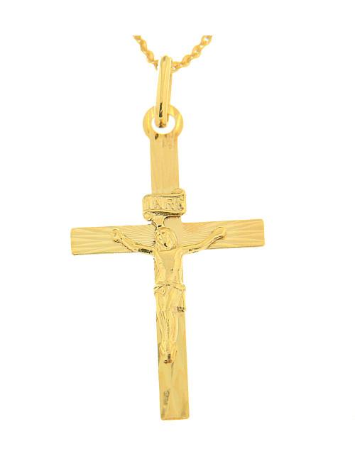 pendentif croix religieux