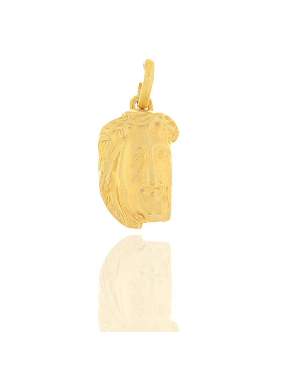 christ pendentif or jaune