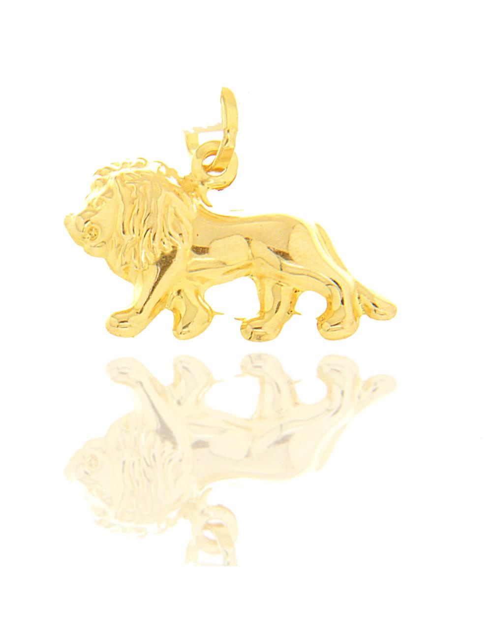 pendentif lion mixte 375/1000