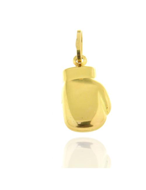 pendentif gant de boxe or jaune