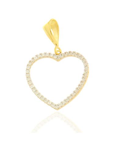 pendentif coeur Or jaune Femme