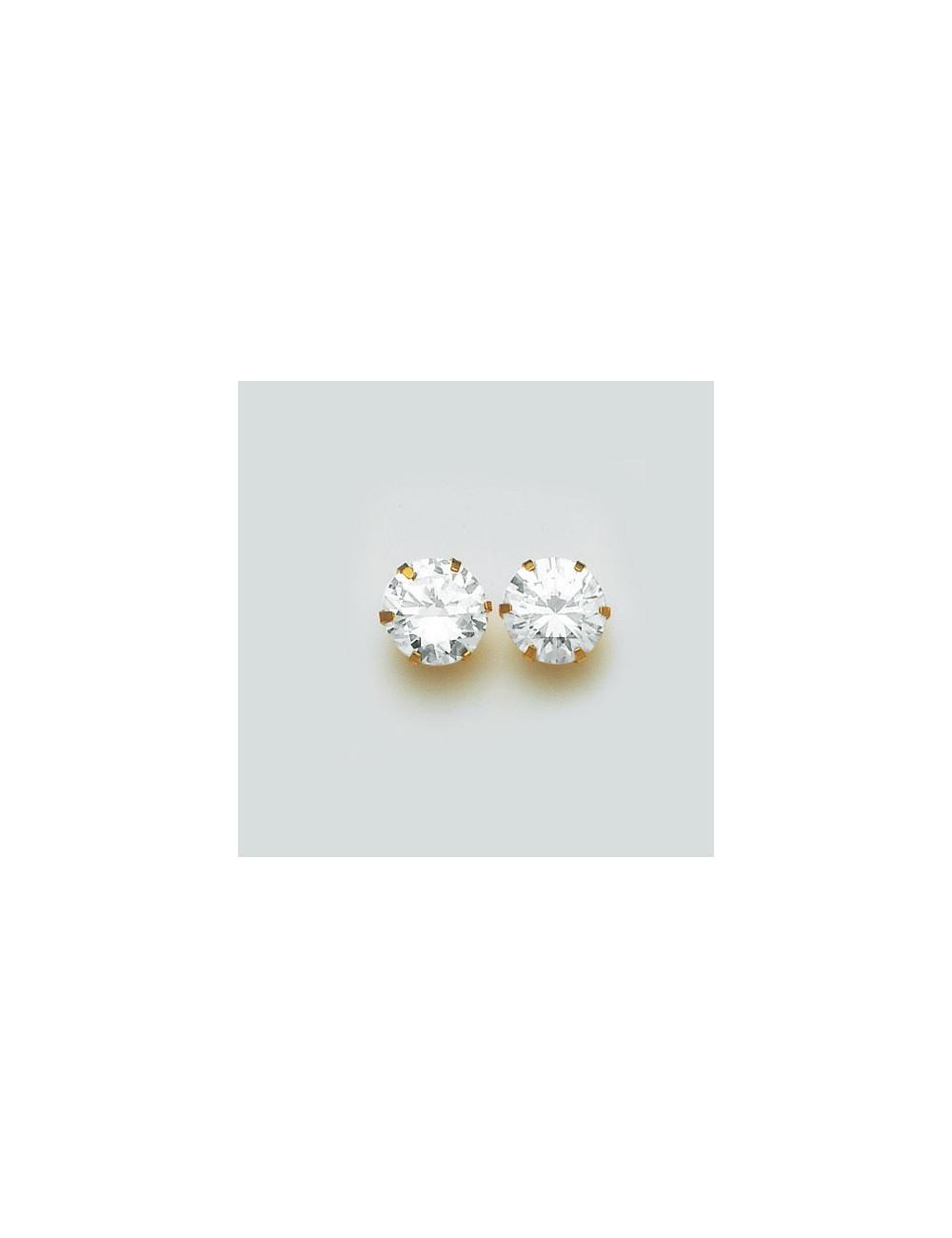 "Boucle d'Oreille ""Puce"" Or 18 carats"