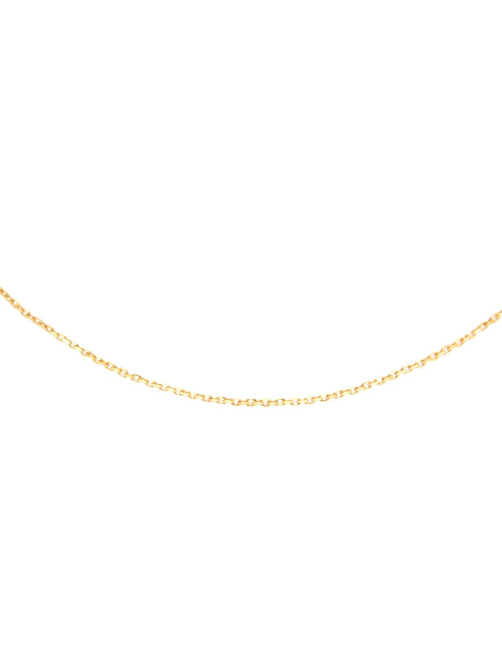Pendentif Coeur Or Jaune 18 Carats + chaine